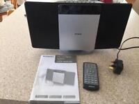 Polaroid flat cd micro system VCM632, CD player, radio, usb, aux, as new