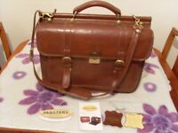 Computer bag - Masters - leather - used
