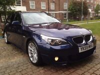 BMW 520D M SPORT BUSINESS EDITION ESTATE FULL BMW SERVICE HISTORY 6 SPEED MANUAL SAT NAV P/X WELCOME