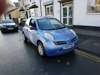 04 PLATE NISSAN MICRA. 1.2 PETROL. IDEAL FIRST CAR. PX WELCOME
