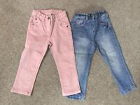 Girls Jeans - 1.5 to 2 years