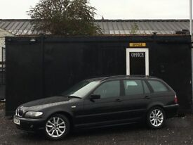 ★ 2004 BMW 320D TOURING + DIESEL ESTATE + AUTOMATIC + AUTO ★