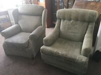 Parker Knoll x2 armchairs