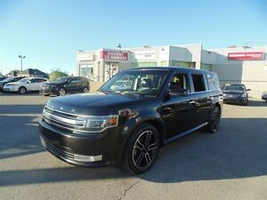 2015 Ford Flex LIMITED AWD, INSPECTÉ, CUIR, TOIT, NAV, 1 PROPRIO