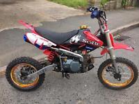*YX 125cc Pitbike Dirtbike Manual YX Motocross*