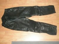 Ladies motorcycle leather trousers size 12
