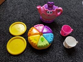 Leap Frog Tea Set - Used