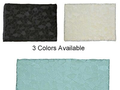 Textured Mosaic Pattern Spa Blue, Cream or Black Luxury Jacquard Shower Curtain Blue Mosaic Shower Curtain