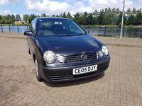 VOLKSWAGEN POLO, 2005, 1.2e, MOT 04/17, GOOD HISTORY, DRIVES VERY WELL. A GOOD CAR FOR SOMEBODY.