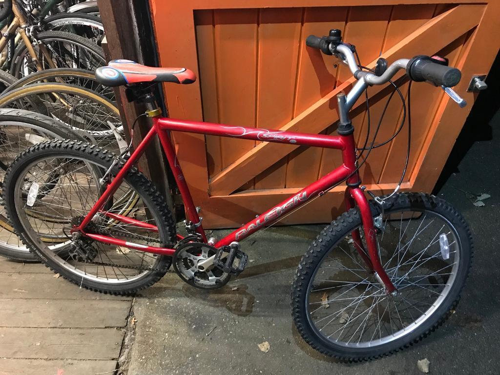 Raleigh Spirit Mountain Bike, Serviced, Free Lock, Lights, Delivery