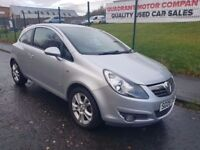 2009 Vauxhall Corsa SXi 3dr Full Years MOT 3 month Warranty, cheap car