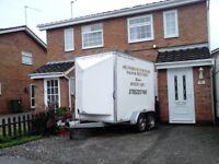 Box van trailer