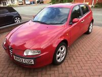 2002 ALFA ROMEO 147 1.6 RED 5 DOOR PETROL