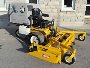2015 Walker MD21GHS Lawn Tractor & Mower Package