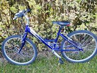 "Raleigh Shugo 24"" Wheel Girls Mountain Bike 15 Speed"