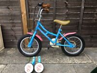 Dawes Child's bicycle with stabilisers