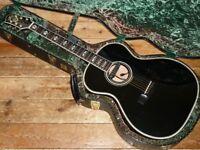 Guild USA Custom Shop Valencia acoustic with Fishman Rare Earth Blend pickup