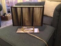 Black desk lamp ideal for living room