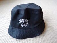 f634cef4db0e3 Stussy Hat Black Excellent Condition