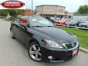 2011 Lexus IS 250 CONVERTIBLE/ NAVIGATION/ CAMERA/ LOW KMs!!