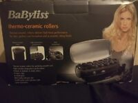 Babyliss Thermo-ceramic Rollers- never been used