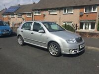 Skoda Fabia VRS diesel 6 speed 05 reg may mot ,px welcome
