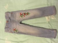 River island jeans age 2-3