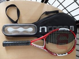 Wilson Ncode n5 Red Tennis Racquet + cover