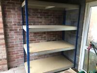 Heavy duty storage racking
