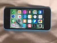 iPhone 5C unlocked blue fully working