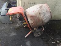 Belle minimix 150 cement mixer