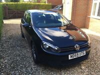 VW Golf 1.6TDI SE, 5dr, SH, A/C, 6 months MOT, cruise control, auto lights and wipers. £30 tax