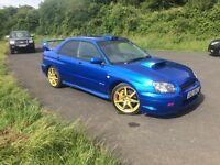 Subaru Impreza STI type UK 69,000 miles FSH