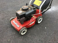 Mountfield Emblem, push lawnmower, working order with grass box, nice compact Mower