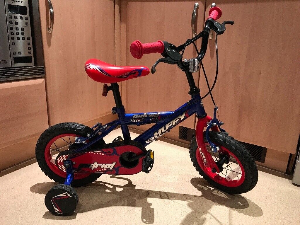 """12"""" Bike with Removable Stabilisers Age 3-5"""