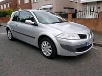 Renault Megane 1.5 diesel 2007 silver 3 door