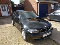BMW 118d SE 2009 3DR BLACK