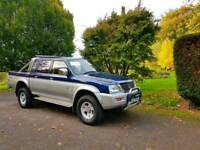 WOW! 1 OWNER FROM NEW MITSUBISHI L200 2002! 2.8TD! SATNAV, BLUETOOTH, VERY HIGH SPEC!
