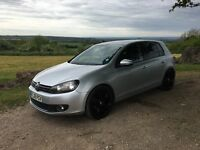 VW GOLF 2.0 GT TDI MK 6 2009. FSH WITH MOT GTD
