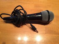 Microphone in full working order.
