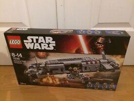 lego starwars resistance troop transporter 75140 brand new!