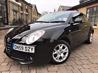 Alfa Romeo Mito 1.4 16v Lusso 3dr p/x welcome **ONLY 1 OWNER**FULL S/H** 2009 (59 reg), Hatchback