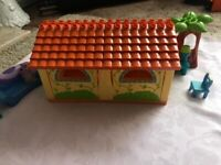 Lego house with Dora