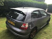 2004 HONDA CIVIC 1.6 EP3 EP2 COSMIC GREY MODIFIED