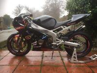 Zx6r b1 h track bike