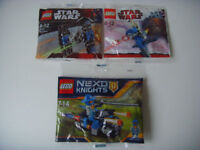 3x New LEGO Star Wars in Polybag