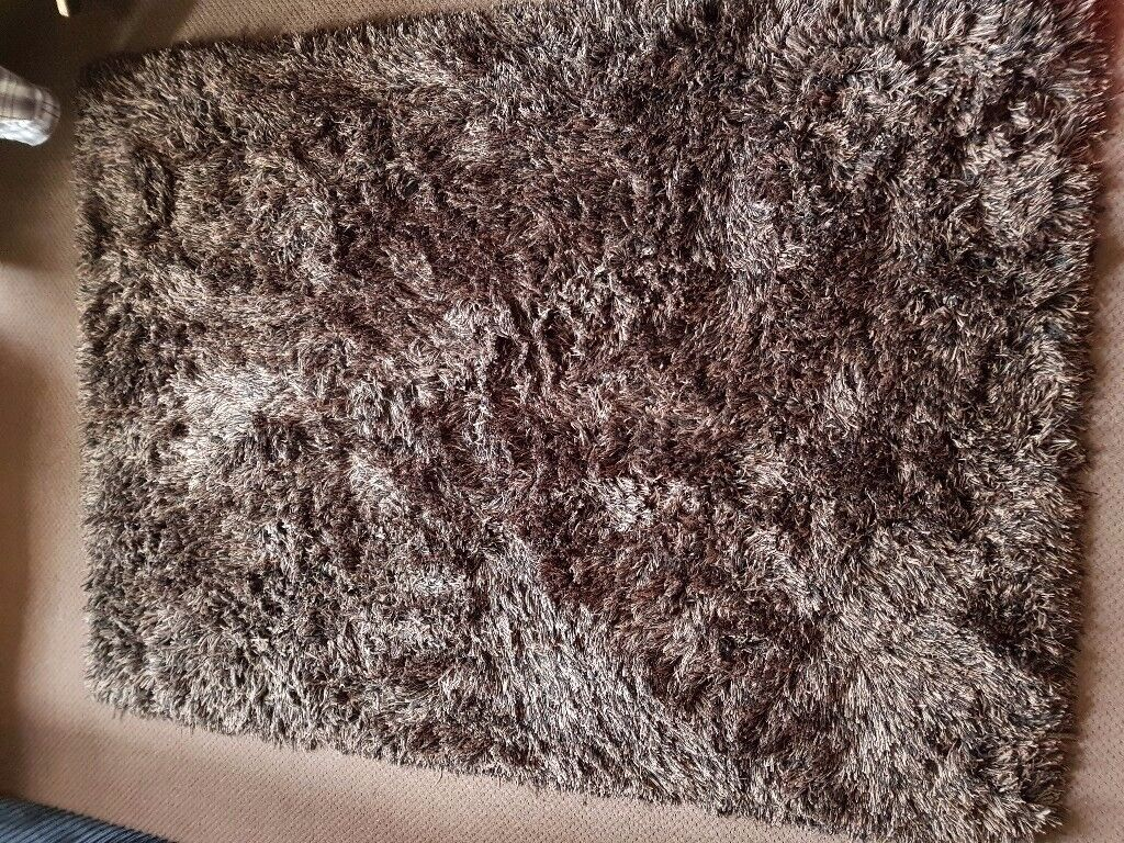 Thick Brown Rug