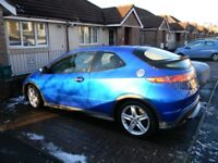 Honda Civic Type S i-Vtech 1.8 3 Door manual Petrol (may swap for classic mini)