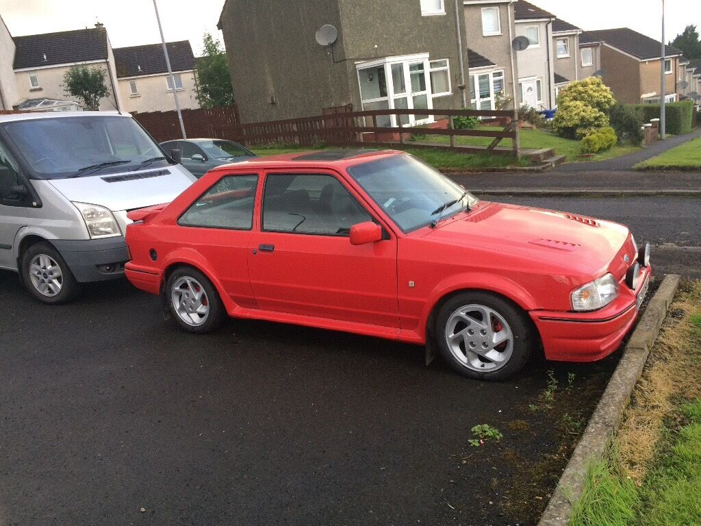 ford escort mk4 rs turbo not xr3i cosworth xr2 in barrhead glasgow gumtree. Black Bedroom Furniture Sets. Home Design Ideas