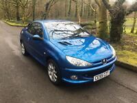 ***PEUGEOT 206CC ONLY 69,000 MILES***